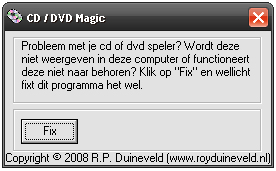 CD / DVD Magic screenshot