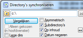 Directory's synchroniseren